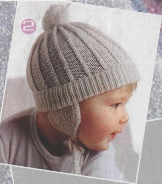 Вязание шапок для девочек схемы