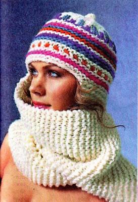 шапочка-шарф