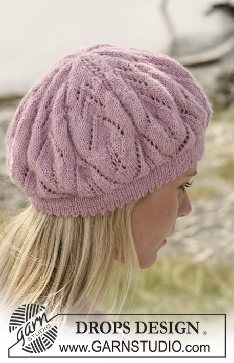 Вязание шапок и шарфов спицами. Схемы