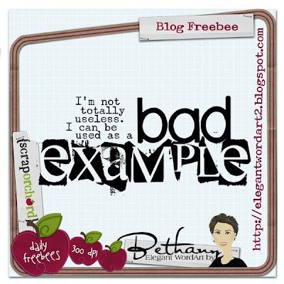 http://elegantwordart2.blogspot.com/2009/05/bad-example.html