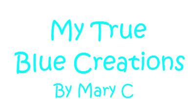 My True Blue Creations