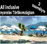 Törökországi üdülés nyeremény