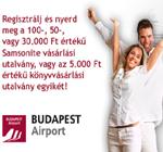 Budapest Airport nyereményjáték