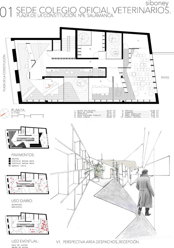 Concurso colegio de veterinarios en salamanca 2010 - Arquitectos en salamanca ...