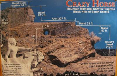 Crazy horse monument finish date