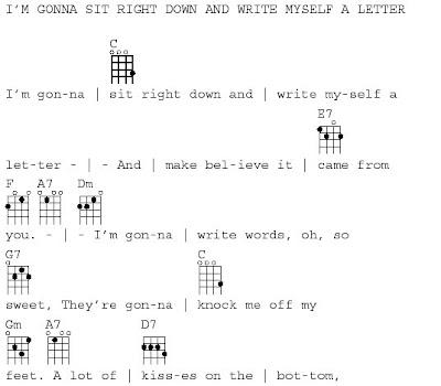 62 – Write Myself A Letter | Lazy River Uke