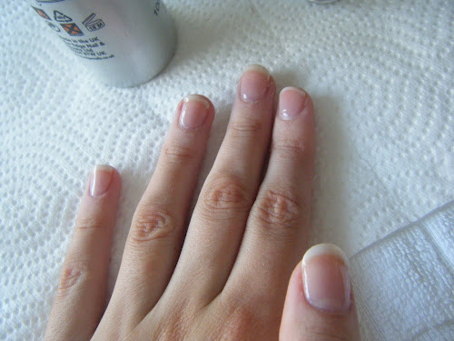 DIY Simple U.V Gel Overlay Nails at home Series! French Manicure Gel ...