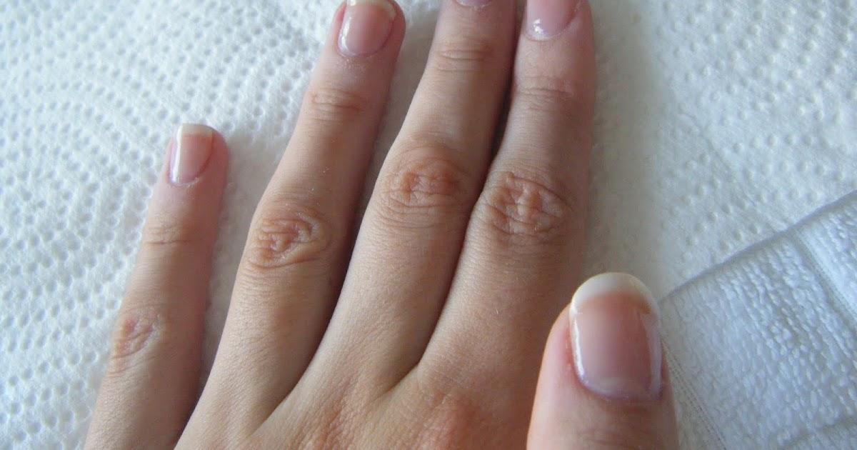DIY Simple U.V Gel Overlay Nails at home Series! French Manicure Gel ...