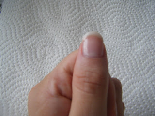 How to remove a gel french manicure
