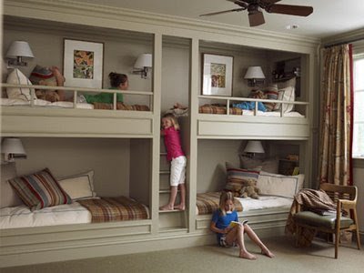 daly designs: 2 Girls 2 Beds Inspiration