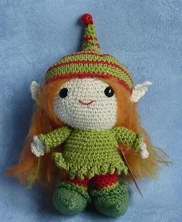 Elfe Puppe. Häkelmuster in meinem Dawanda Shop