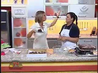 Minha participação no programa Tv Culinária na gazeta