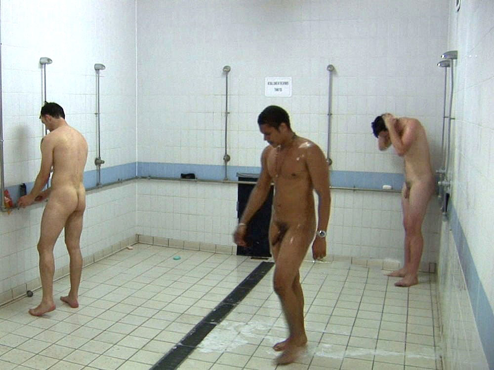 Latex Naked male shower stories see more