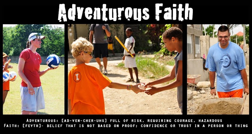 Adventurous Faith