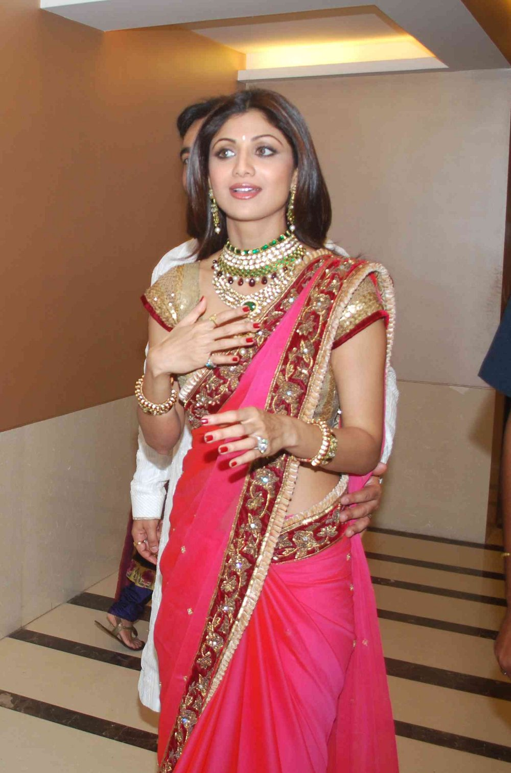 shilpa shetty marriage reception photos wallpapers and