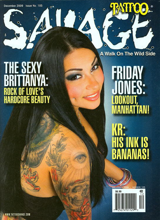 Tattoo Savage Magazine