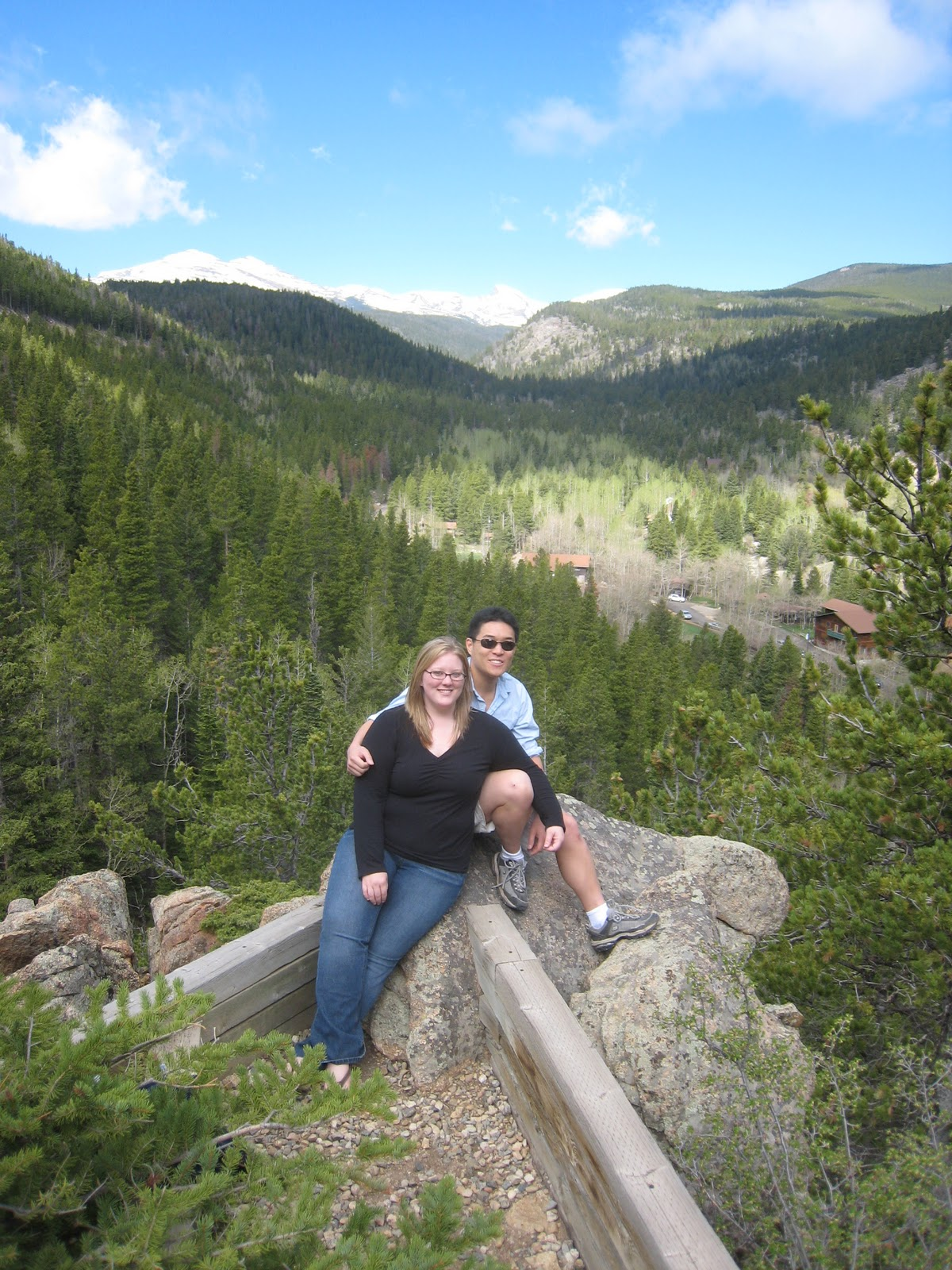 May: Went to an amazing young adult retreat in Colorado mountains. LOVED IT.