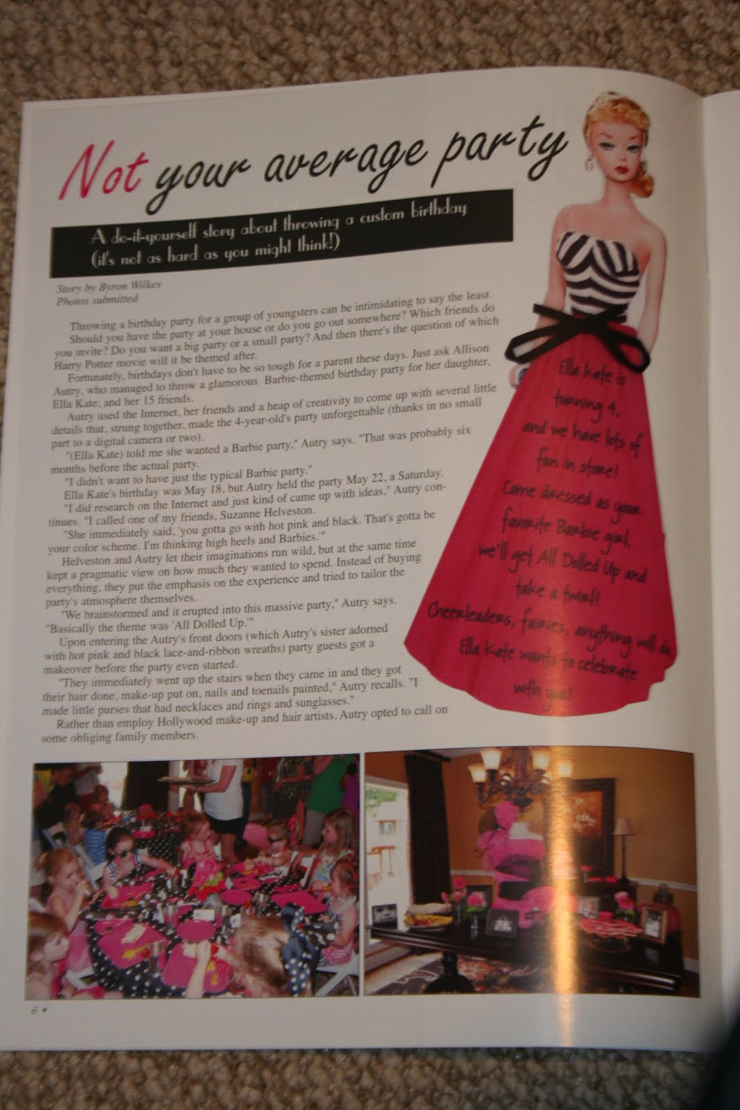 Family magazine articles