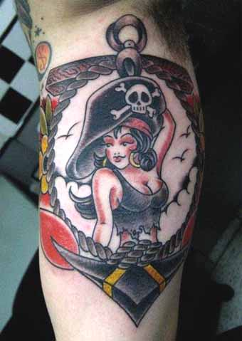 Pin Up Girls Tattoos