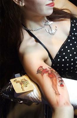 Sailor Jerry Style Tattoo