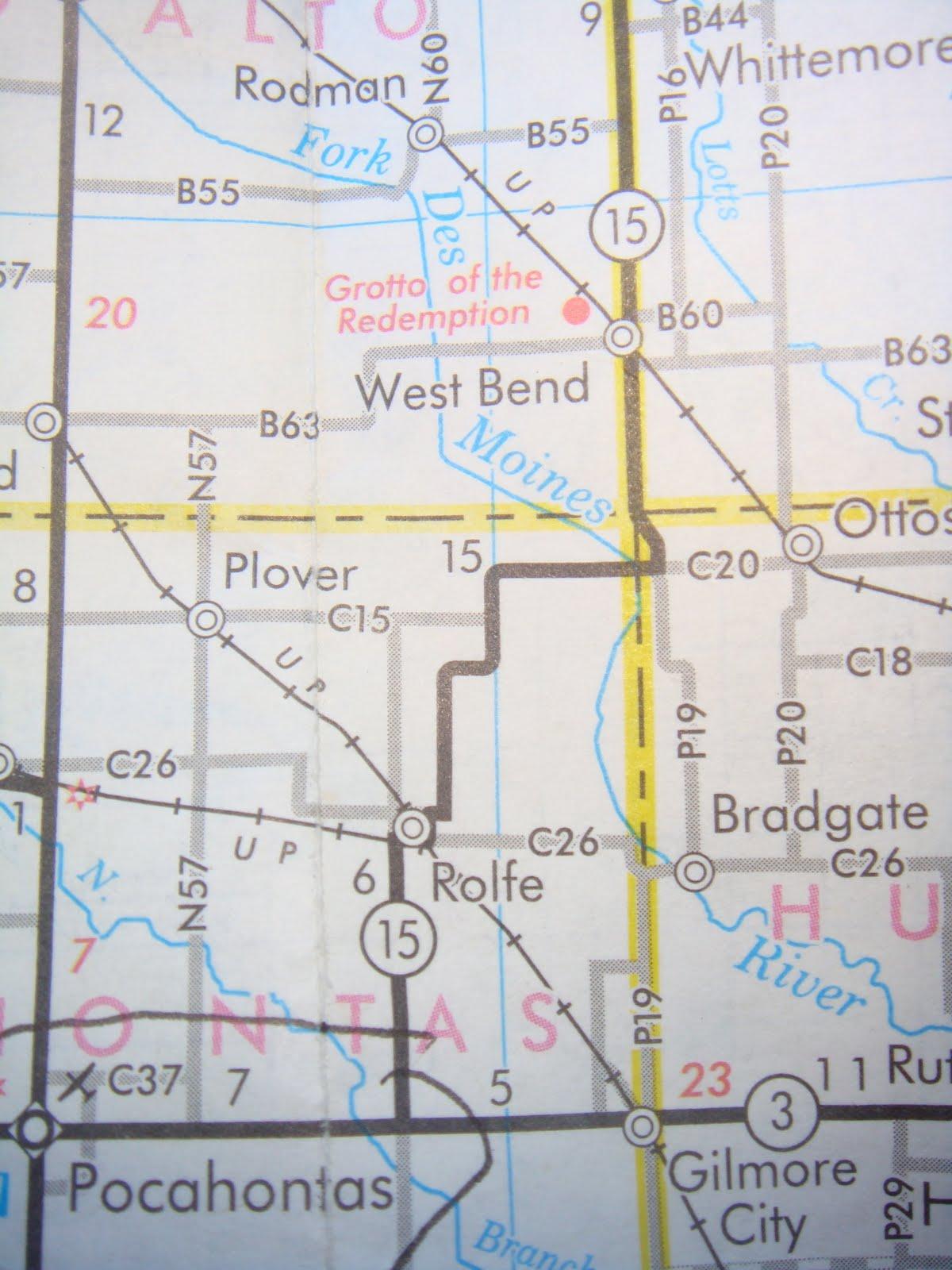 THE ROAD TAKEN  Iowa Corn And Into South Dakota Sept 13