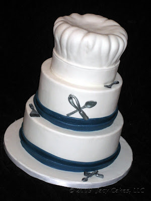 News from Jacy Cakes: Chef s Hat Gluten-Free Wedding Cake