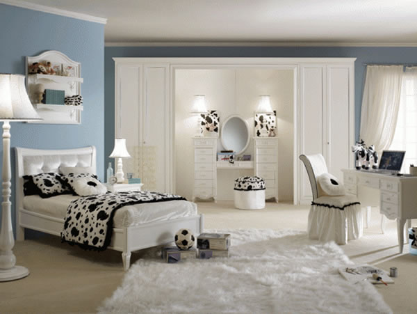 Suite de Pamela - Protegido com Feitiço - Apenas Convidados Teen-Girls-Bedroom-Design-Ideas-Dalmatiaan-theme