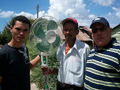 Foto: Camilo, Don Sirito y Luis Roche.