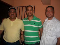 El mero, Muñoz y el capitan que Muñoz trajo para golpiar al mero