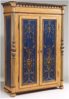 Gentil The Surprise Of Brilliant Blue Makes The Armoire From David Michael  Furniture Striking Indeed.