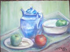 Minhas Pinturas -Tea time