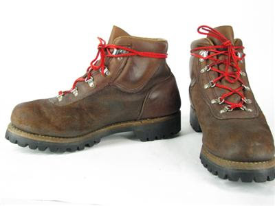 A Swan's Wing Dyed in Red: Red Wing JCP Hiking Boots