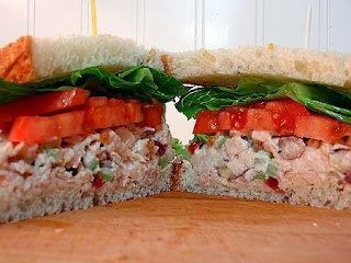 Weight Watchers Points Plus Recipes: The Best Chicken Salad Sandwich