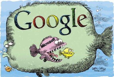 Google vs Microsoft vs Yahoo vs AOL