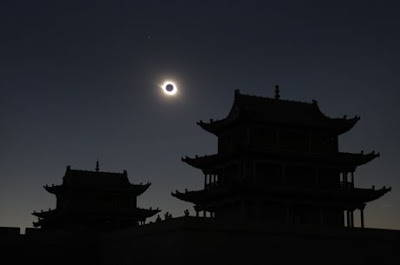 eclipsa totala 1 august 2008 in china