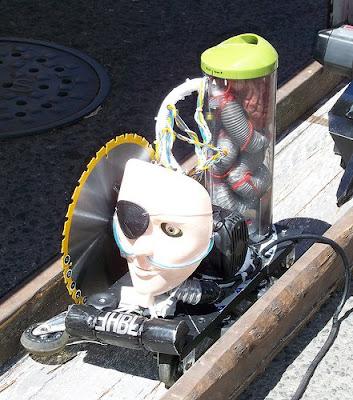 power tool drag race machine
