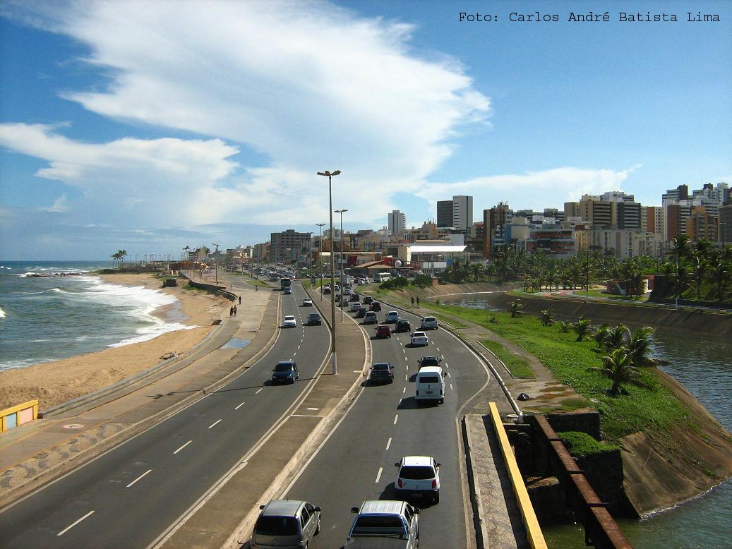 #2D709E  ZONA SUDESTE) VISTO DA PASSARELA NO BAIRRO COSTA AZUL (ZONA SUDESTE 1037x778 px Banheiro Do Parque Costa Azul 3345