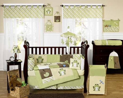 Green Baby Room Ideas