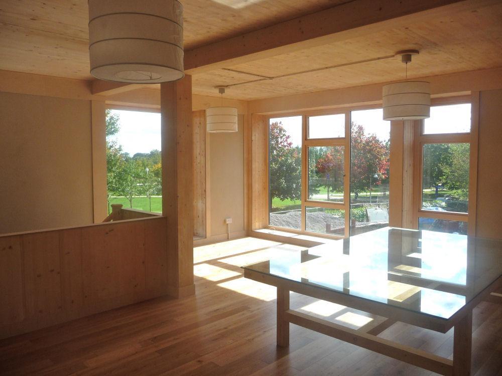 Дом из соломенных панелей