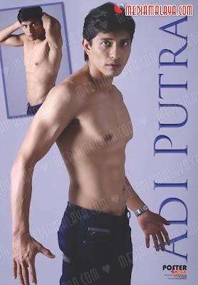 photo] Adi Putra Pelakon Filem Haq Shirtless