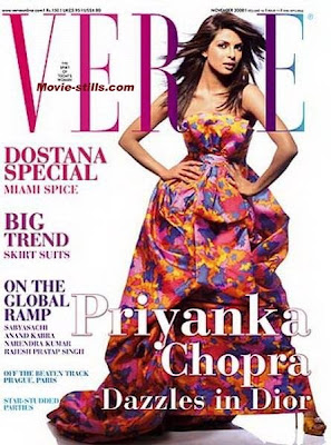 Priyanka Chopra Verve Cover Scans photos
