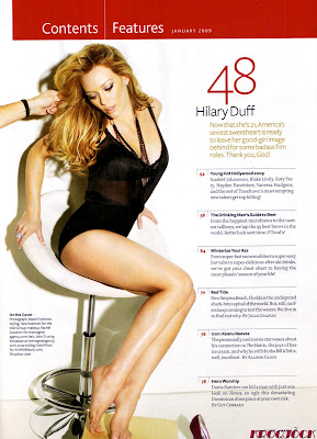 Hilary Duff Maxim Scans