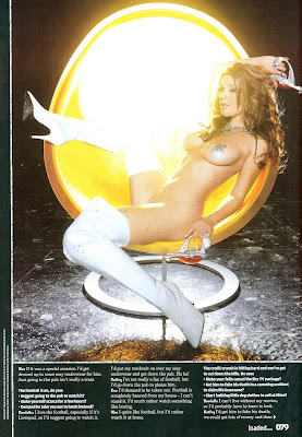 Danielle Lloyd Girls of the Future Loaded Magazine Photoshoot