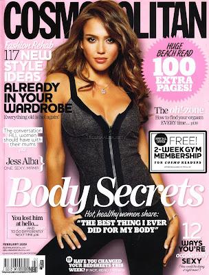 Jessica Alba Cosmopolitan cover Scans - February 2009