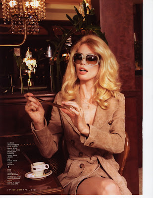 Joseph Gordon-Levitt & Claudia Schiffer GQ Magazine Scans