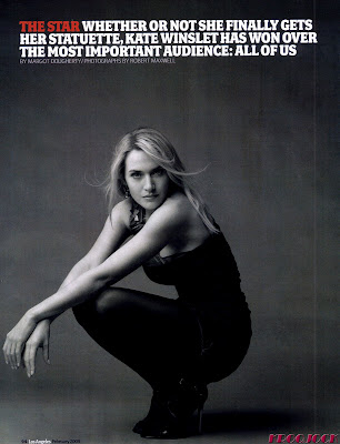 Kate Winslet Los Angeles Magazine Scans