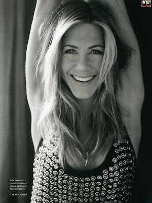 Jennifer Aniston Elle Magazine Scans - April 2009