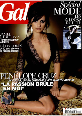 Penelope Cruz Gala Scans