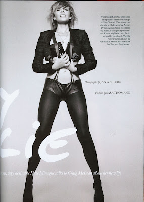Kylie Minogue Elle UK