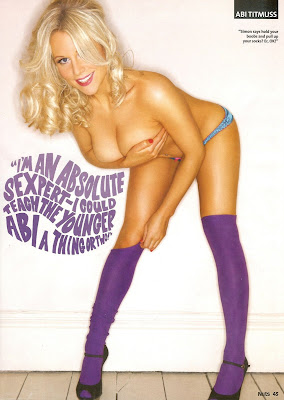 Abi Titmuss Nuts Scans